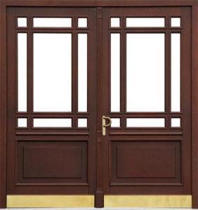 Drzwi wejściowe (dwuskrzydłowe)
