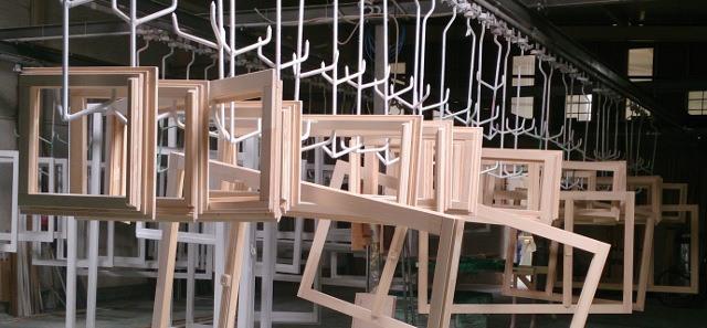 Produkcja okien - surowe