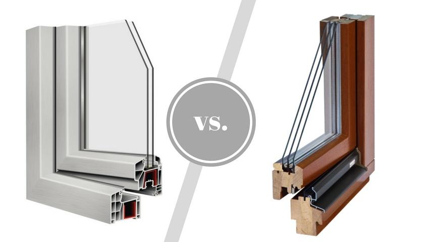 Porównanie okien: PVC i drewnianych