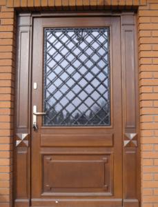 Drzwi wejściowe - wzór