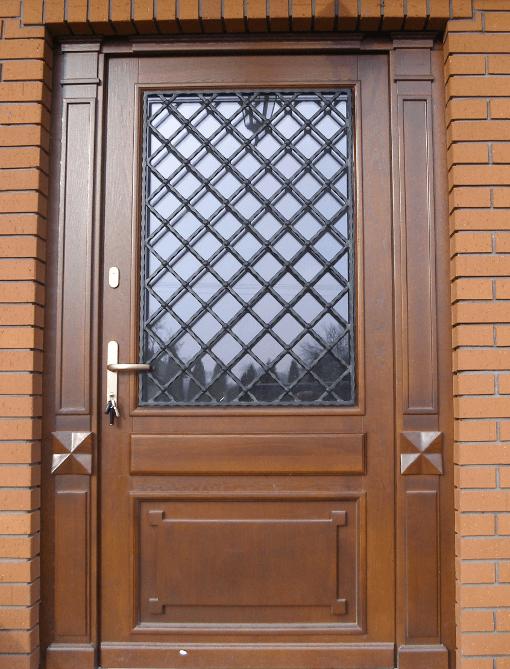 Zaktualizowano Wzory drzwi drewnianych do domu (zewnętrznych) RK32