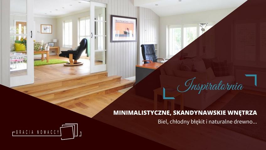 Minimalistyczne wnętrza - projekt (cover)