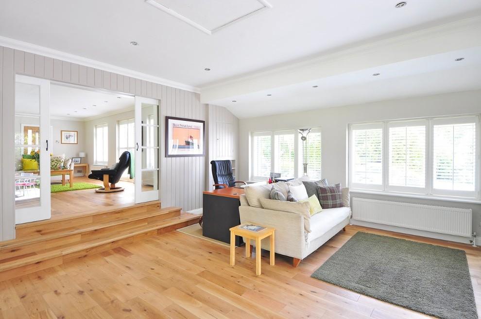 Jasne i przestronne wnętrze domu