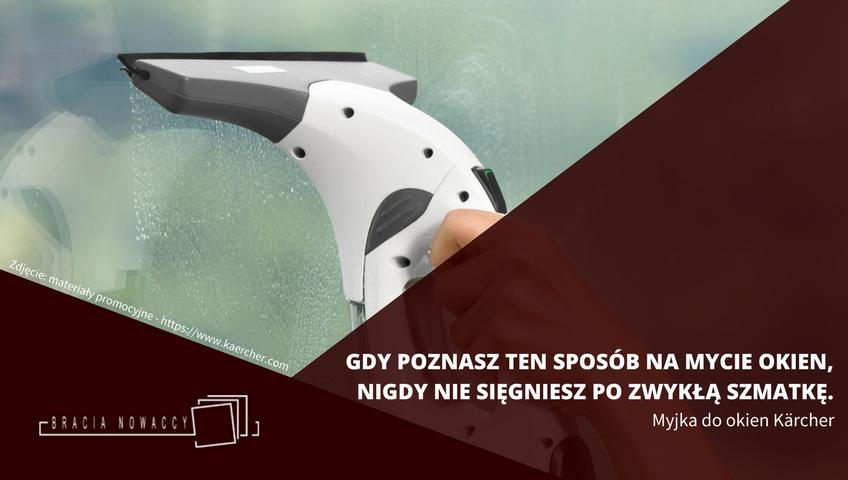 Myjka do okien - elektryczna firmy Karcher