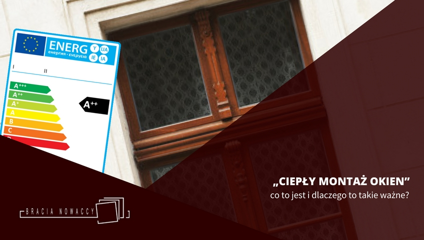 Montaż okna energooszczędnego