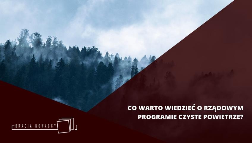 Program Czyste powietrze - obraz tytułowy