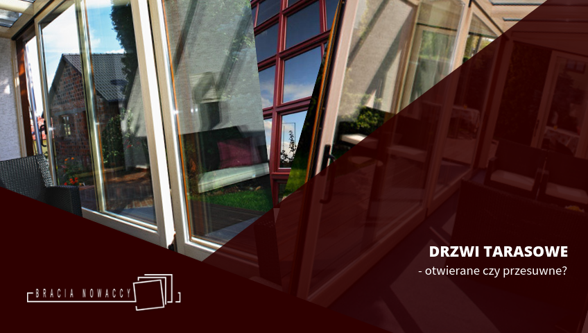 Drzwi tarasowe do domu, na balkon